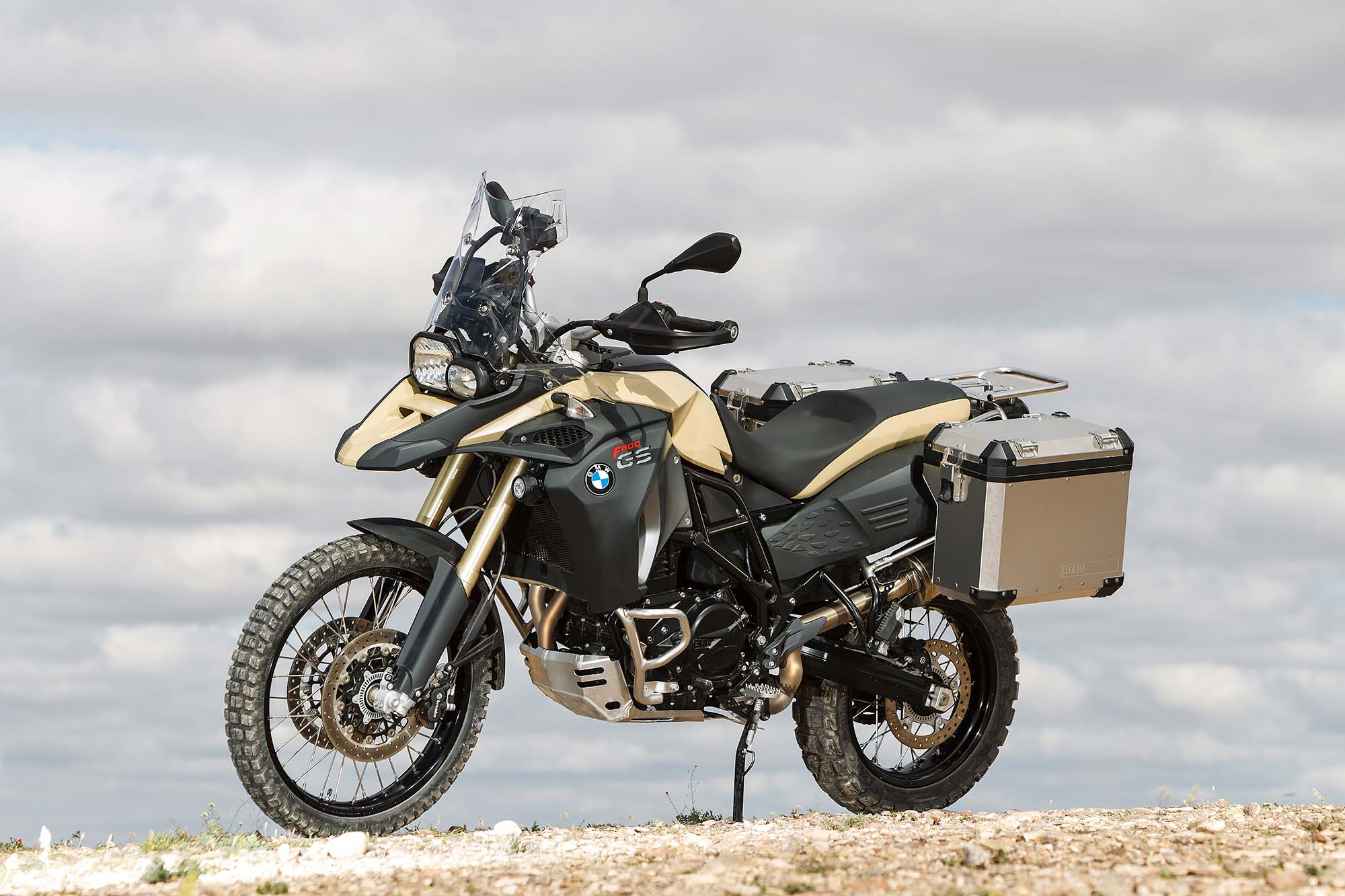 The new BMW F800GS Adventure
