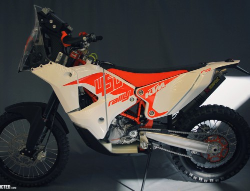 The new KTM 450 Rally 2014